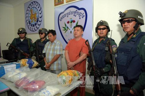 Plus de 2.500 suspects lies a la drogue arretes au Cambodge hinh anh 1
