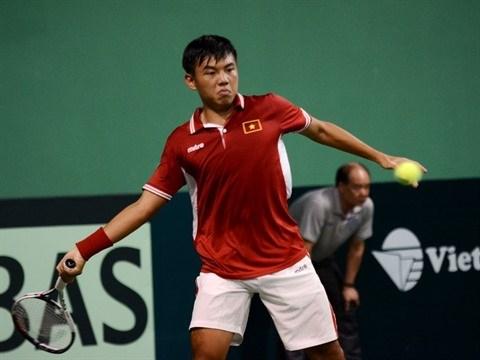 Coupe Davis 2017: Ly Hoang Nam a egalise pour le Vietnam hinh anh 1