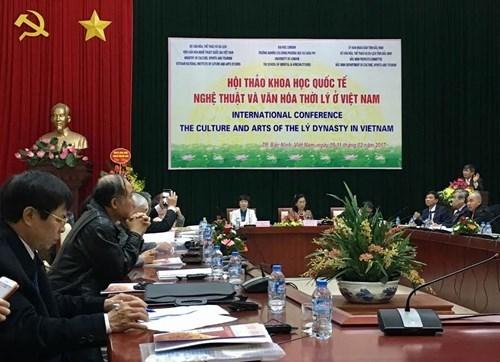 Conference internationale sur la culture et les arts de la dynastie des Ly au Vietnam hinh anh 1