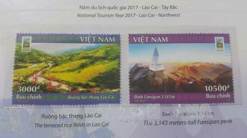 Publication d'une collection de timbres en l'honneur de l'Annee nationale du tourisme de 2017 hinh anh 1