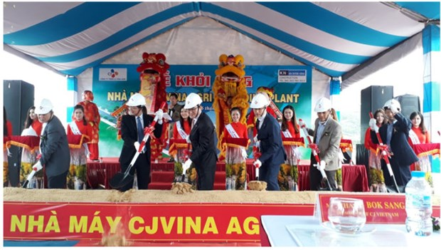Aliment pour animaux: le sud-coreen CJ Group investit dans sa 6e usine au Vietnam hinh anh 1