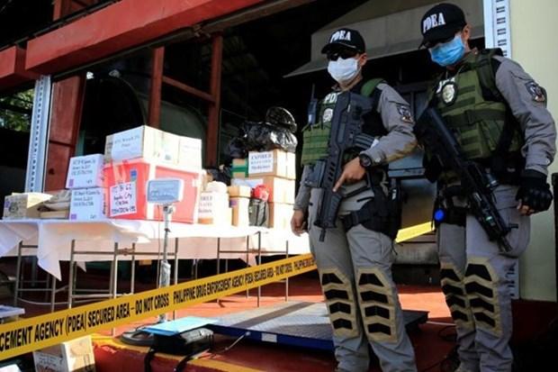 L'armee philippine va creer une force speciale dans la lutte contre la drogue hinh anh 1