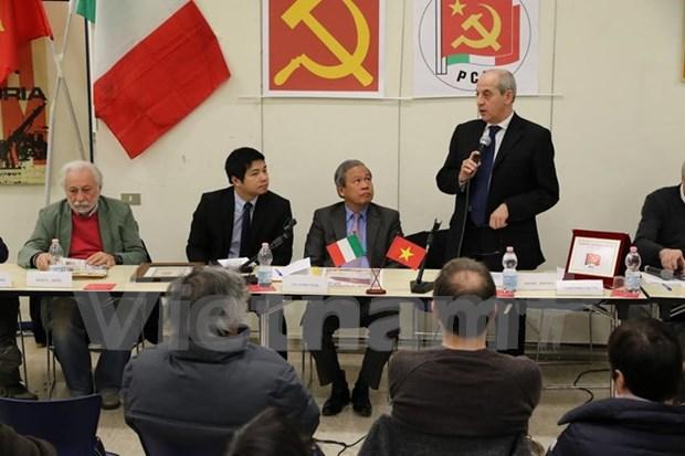 Un seminaire sur l'œuvre revolutionnaire du Vietnam en Italie hinh anh 1