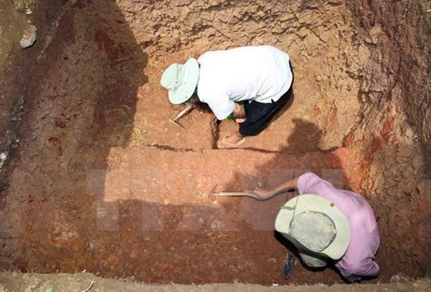 Des artefacts Cham decouverts dans la province de Quang Ngai hinh anh 1
