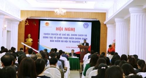 Conference sur l'assurance sociale a Hanoi hinh anh 1