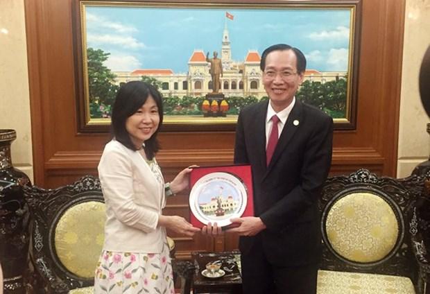 Ho Chi Minh-Ville est prete a accueillir les entreprises de Sakai (Japon) hinh anh 1