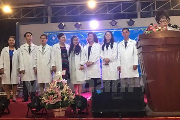 Celebration de la Journee des medecins vietnamiens au Cambodge et en Russie hinh anh 1