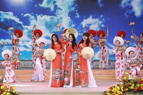 Le charmant ao dai de la femme vietnamienne hinh anh 1