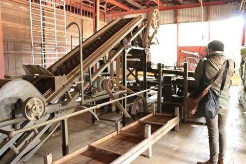 A la decouverte de la plus ancienne usine de production de the a Lam Dong hinh anh 2