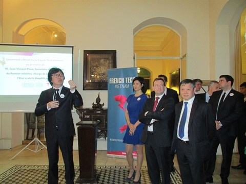 Lancement officiel de la French Tech Vietnam hinh anh 1