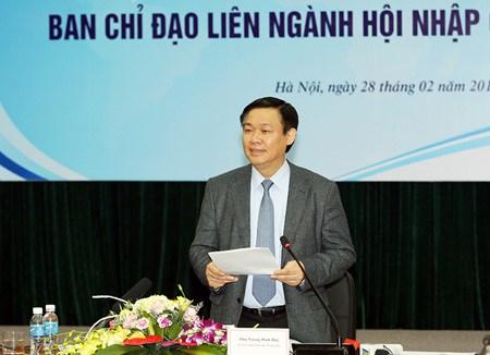 Reunion du comite charge de l'integration a l'economie mondiale hinh anh 1