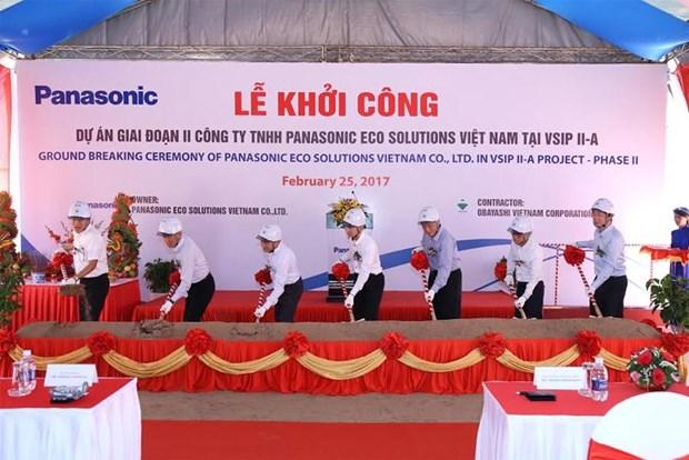 Panasonic: un investissement supplementaire d'un milliard de yens a Binh Duong hinh anh 1