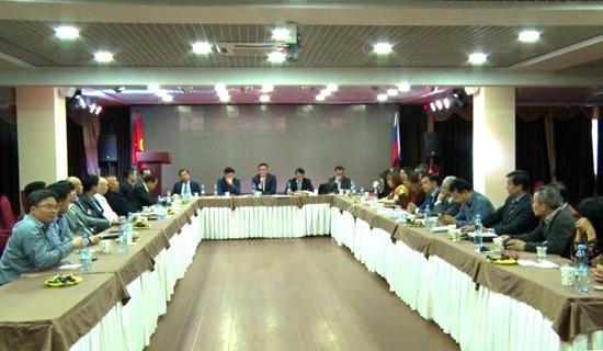Les entreprises vietnamiennes en Russie partagent leurs experiences hinh anh 1