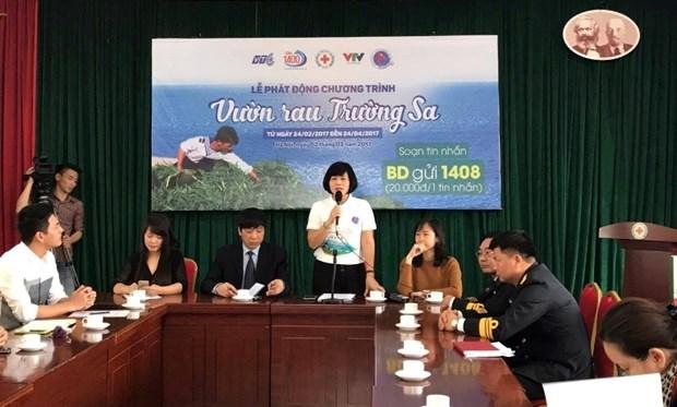 La Croix-Rouge vietnamienne lance le programme