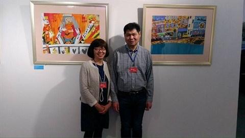 Peinture : une soixantaine d'œuvres d'artistes autistes exposees a Hanoi hinh anh 4