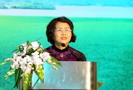 Le Vietnam encourage les femmes a developper l'economie verte hinh anh 1