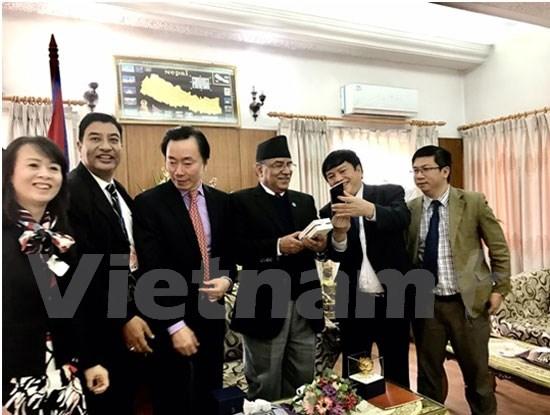 VNPT cherche de nouvelles opportunites de cooperation au Nepal hinh anh 1