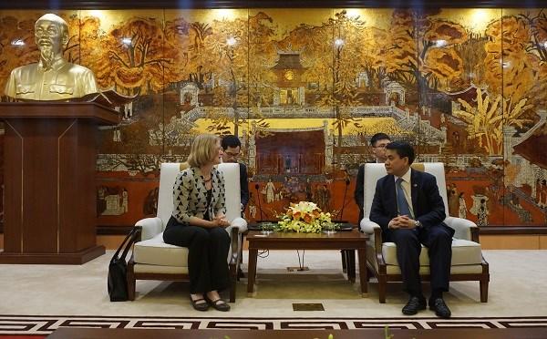 Hanoi souhaite etendre sa cooperation avec la Nouvelle-Zelande dans l'agriculture et l'education hinh anh 1