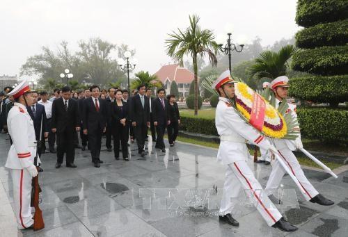 La presidente de l'AN Nguyen Thi Kim Ngan en tournee a Dien Bien hinh anh 2