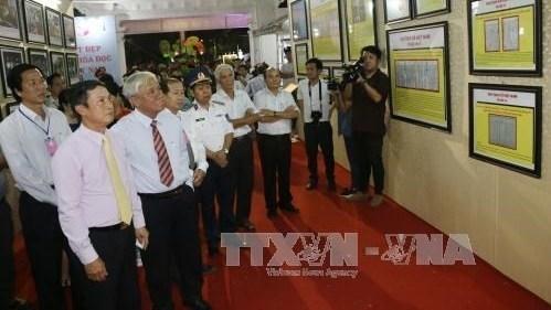 Exposition «Hoang Sa, Truong Sa du Vietnam - Preuves historiques et juridiques» a Dong Thap hinh anh 1