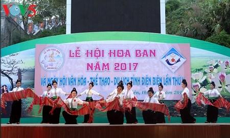 Ouverture de la fete de la fleur de bauhinie 2017 a Dien Bien hinh anh 1