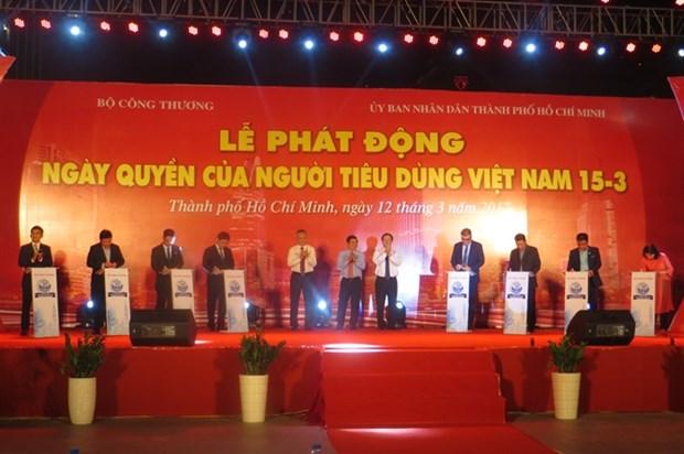 Lancement de la Journee des droits des consommateurs vietnamiens 2017 hinh anh 1