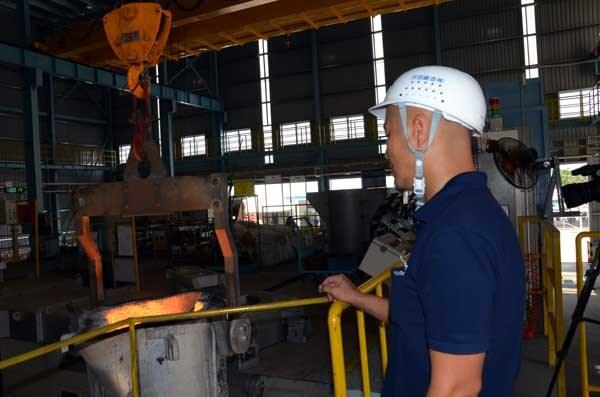 Inauguration d'une usine de moules pour produits mecaniques a Da Nang hinh anh 1