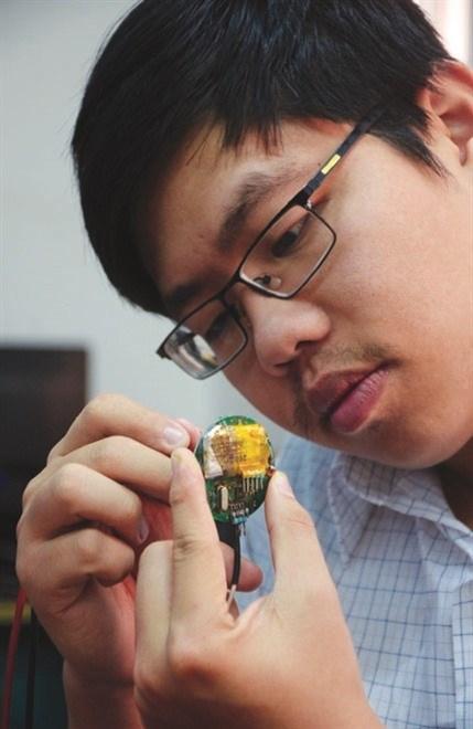 Cu Gia Huy, createur d'un electrocardiogramme vietnamien hinh anh 1
