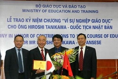 Le president de l'Association asiatique d'Education et d'Amitie a l'honneur hinh anh 1