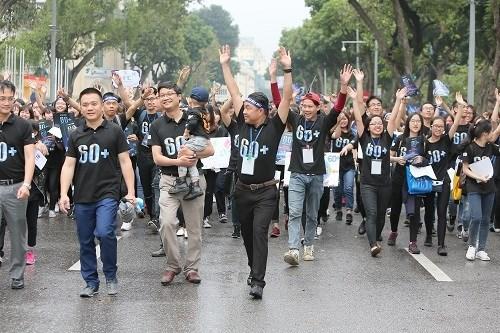 Hanoi fait echo a la campagne «Heure de la Terre 2017» hinh anh 1
