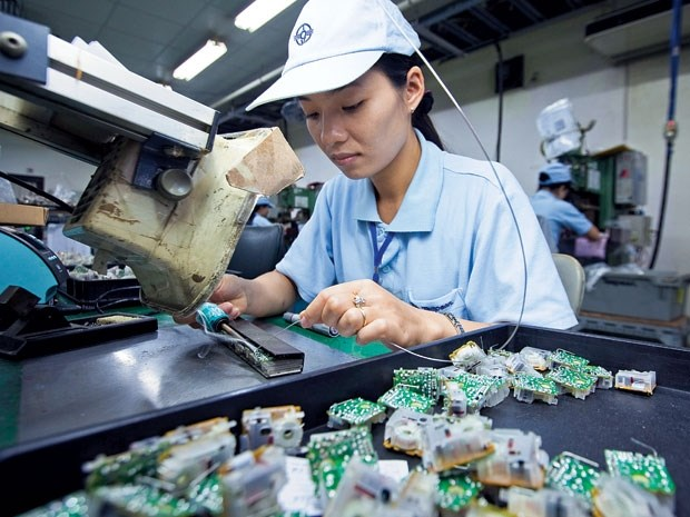 Vietnam-Inde: plus d'un milliard de dollars d'echanges commerciaux en 2 mois hinh anh 1