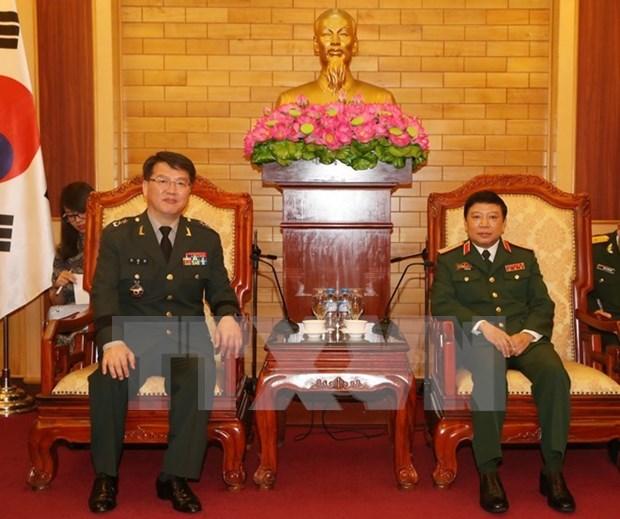 Vietnam et Republique de Coree renforcent leur cooperation de defense hinh anh 1