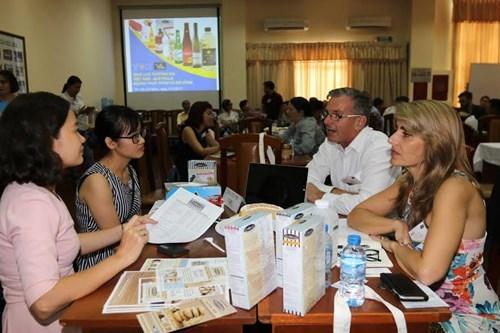 Denrees alimentaires : des entreprises australiennes sondent Ho Chi Minh-Ville hinh anh 1