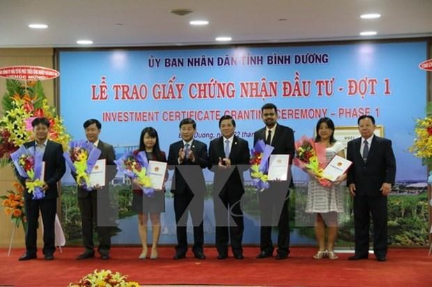 Binh Duong en tete du pays dans l'attrait des capitaux etrangers hinh anh 1
