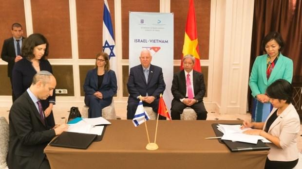 Vietnam-Israel : renforcement de la cooperation dans l'education et la formation hinh anh 1