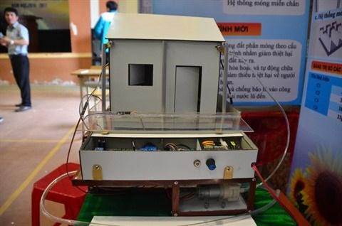Une maison parasismique concue par un jeune Vietnamien hinh anh 2