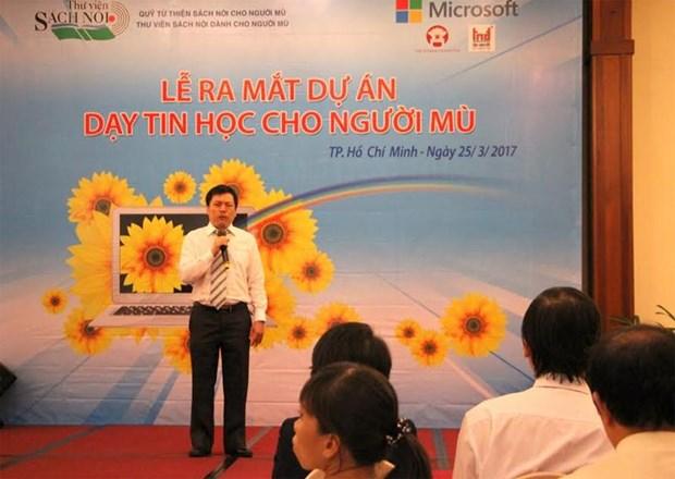 Informatique : Mise en œuvre d'un projet pour les malvoyants hinh anh 1