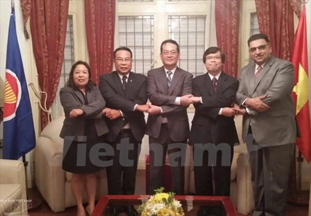 Le Vietnam accelere la cooperation entre les pays de l'ASEAN et ceux d'Amerique du Sud hinh anh 1