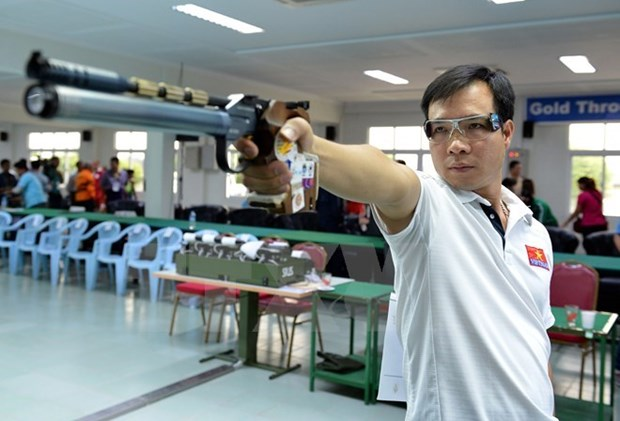Le Vietnam vise l'une des trois premieres places des 29e SEA Games hinh anh 1
