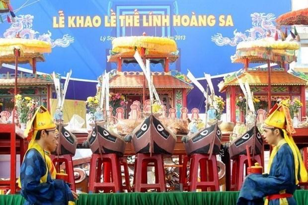 La province de Quang Ngai rend hommage aux garnisons de Hoang Sa hinh anh 1