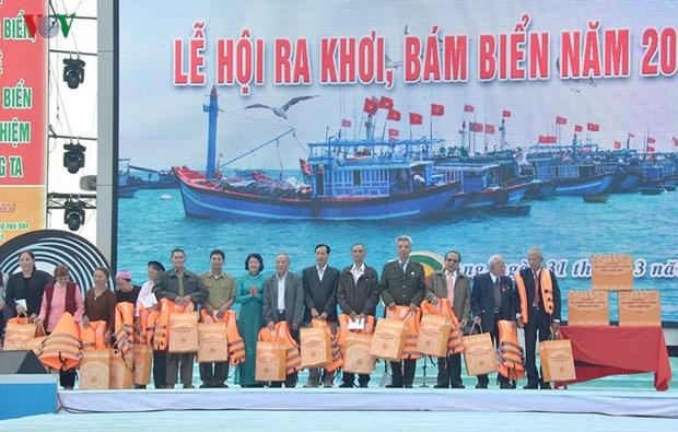 Les pecheurs de Hai Phong partent en campagne au large hinh anh 1