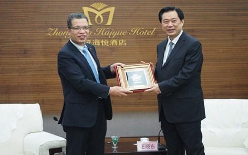Promouvoir la cooperation commerciale entre le Vietnam et la province du Hebei (Chine) hinh anh 1