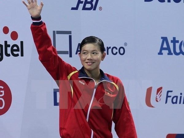 Une nageuse vietnamienne gagne l'or avec un nouveau record asiatique hinh anh 1