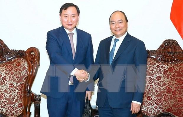 Le PM recoit le directeur general de la branche utilitaire de Hyundai Motor hinh anh 1