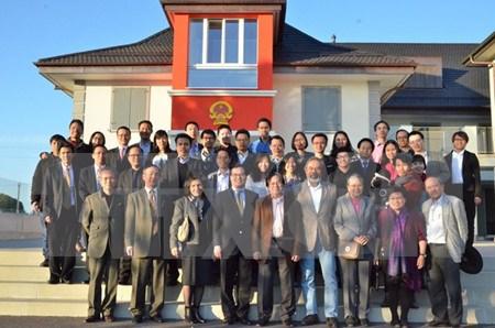 Les Vietnamiens en Suisse s'orientent vers la mere Patrie hinh anh 1