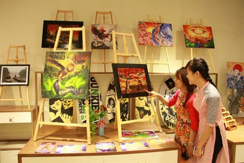 Da Nang, un nouvel eldorado pour les peintres internationaux hinh anh 1
