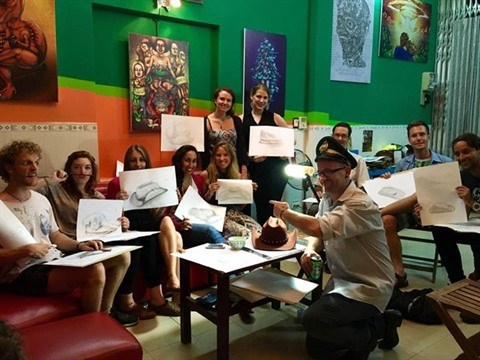 Da Nang, un nouvel eldorado pour les peintres internationaux hinh anh 2