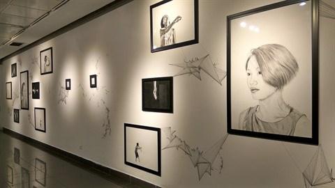 L'artiste Florian Nguyen expose ses jeux de memoires a Hanoi hinh anh 1