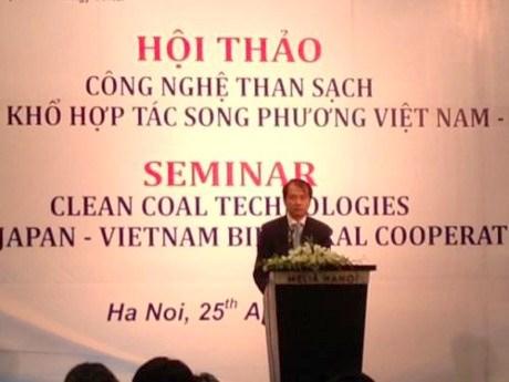 Le Vietnam et le Japon cooperent dans la technologie du charbon propre hinh anh 1