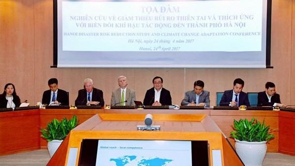 Hanoi determinee a lutter contre le changement climatique hinh anh 1